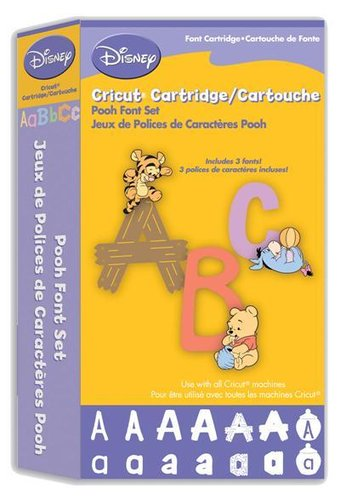 Cartucho Cricut® Disney® Pooh Font Set