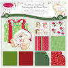Pack de Hojas/Decoupage 8x8 Fizzy Moon Christmas Traditional