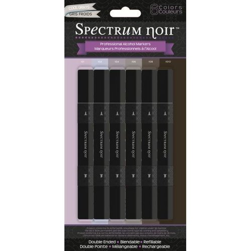 Rotuladores Spectrum Noir Cool Greys