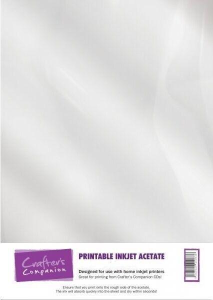 graphic regarding Printable Acetate identified as Printable Inkjet Acetate