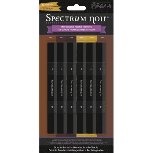 Rotuladores Spectrum Noir Marrón