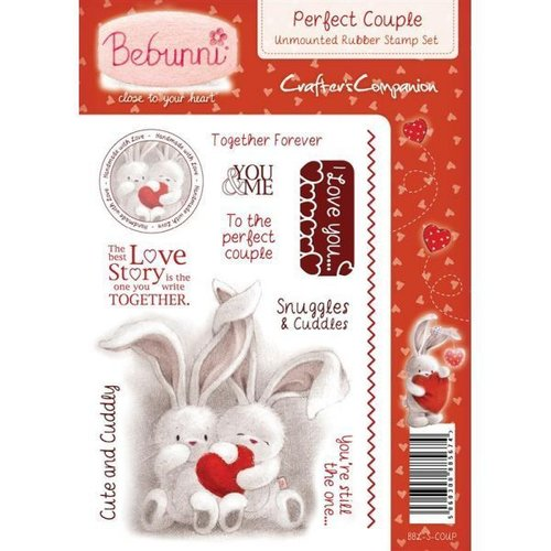 Sello de caucho para montar Bebunni - Perfect Couple