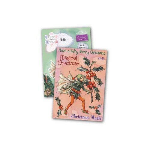 Sello de caucho para montar Flower Fairies- Holly