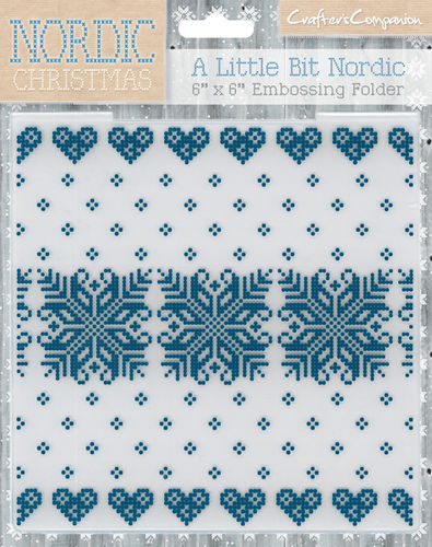 Carpeta de Grabación en Relieve- A little Big Nordic