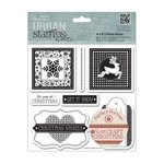 Sello de caucho Urban Stamp- Craft Christmas