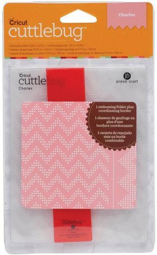 Carpeta de Relieve Cricut Cuttlebug: Charles