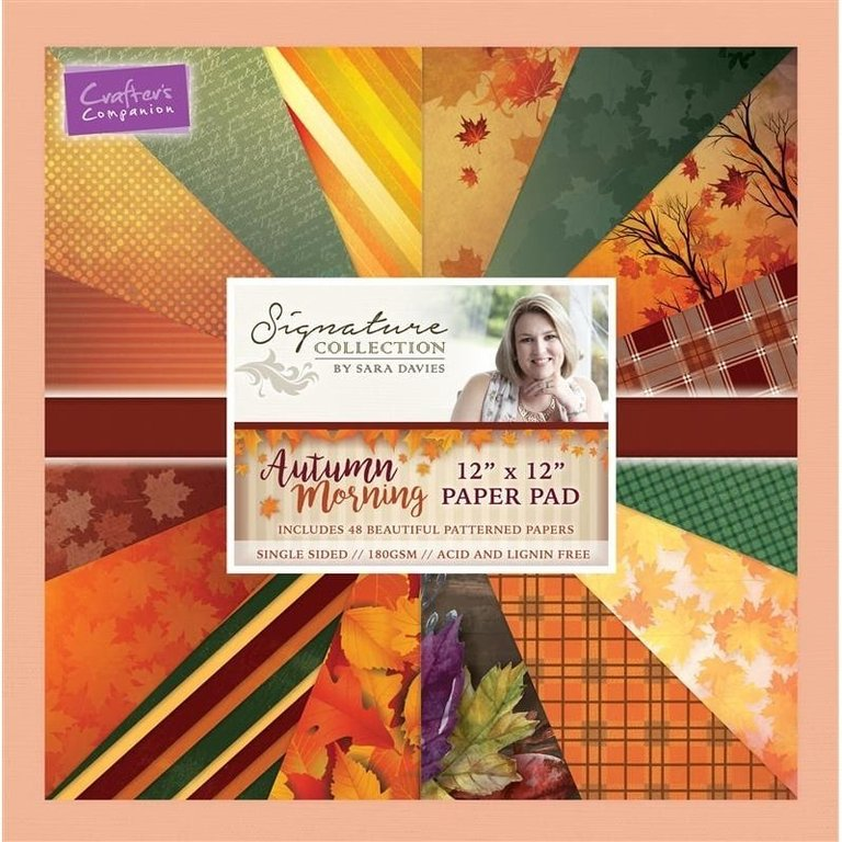 Pack de Hojas 12x12 Signature Collection- Autumn Morning