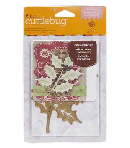Troquel Cricut Cuttlebug-  Holly Spring