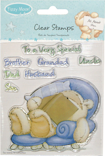 Clear Stamp Pack Fizzy Moon All About Him