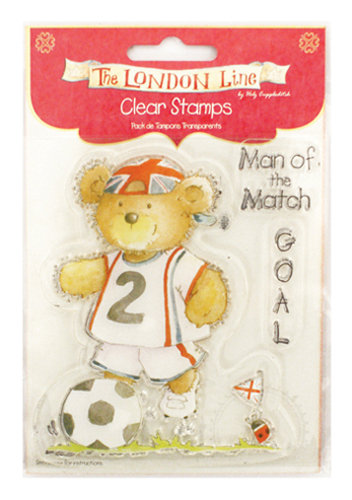 The London Line by Helz Cuppleditch Clear Stamp - Man of the Match