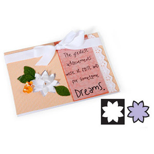 Sizzix Movers & Shapers Magnetic Die - Flower #3