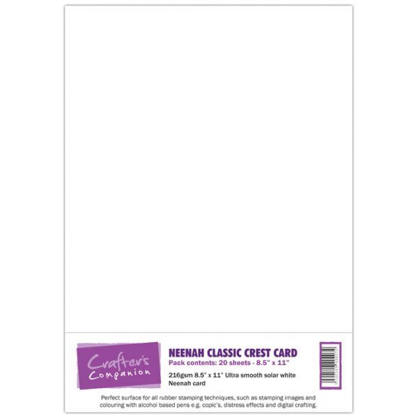 Neenah Classic Crest Card Pack - Solar White