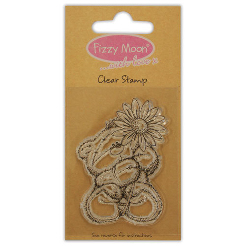 Clear Stamp Fizzy Moon Flower