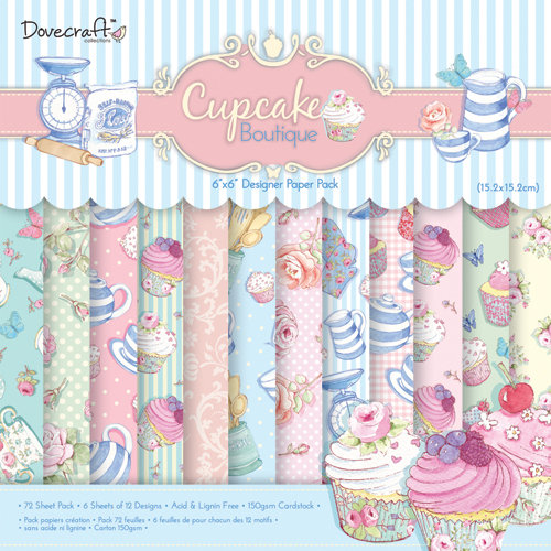 Cupcake Boutique 6x6 Paper Pack Dovecraft