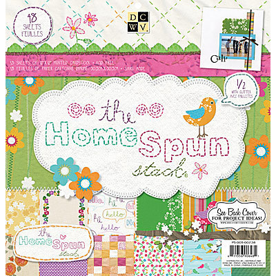 12X12 The Homespun Stack by DCWV