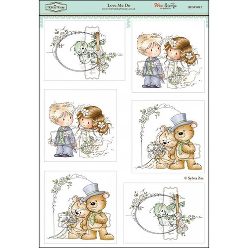 Toppers Wee Stamps - Love Me Do