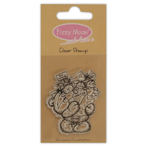 Clear Stamp Fizzy Moon With Love