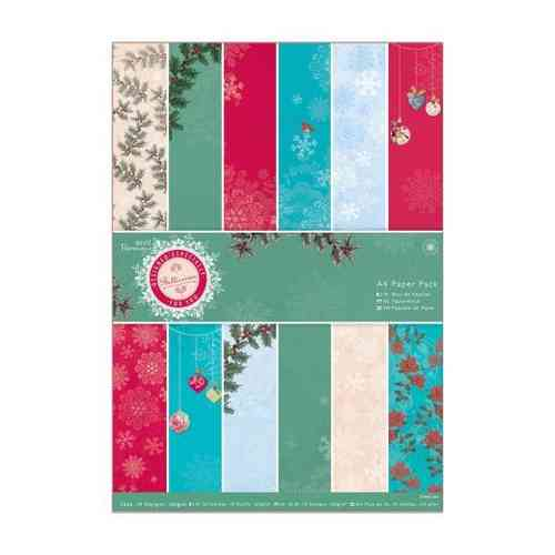 Pack de Hojas Docrafts A4- Bellissima Christmas