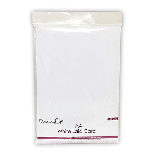 Papel Blanco  A4 Laid Card