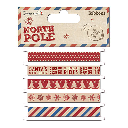 North Pole Dovercraft Ribbons