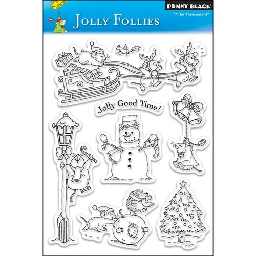 Penny Black  Jolly folies Clear Stamp