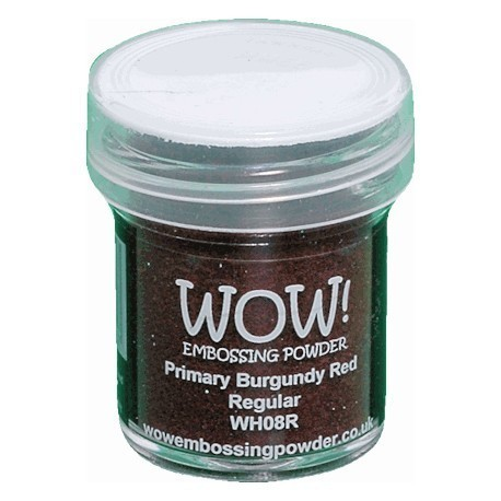 WOW Embossing Powders Primary Burgundy Red