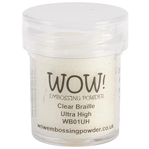 WOW Embossing Powders Clear Braille Ultra High