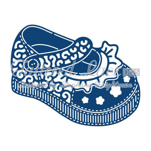 Tattered Lace dies: Baby Girl Shoe