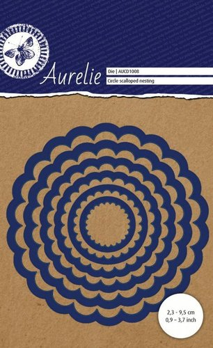 Dies Aurelie: Circle Scalloped Nesting
