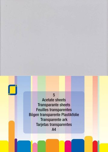 Acetate Sheets