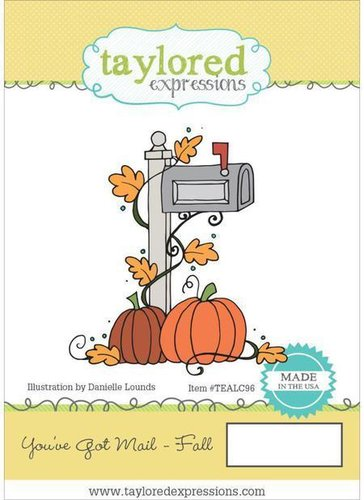 Taylored Expressions You´ve got Mail Fall Rubber Stamp