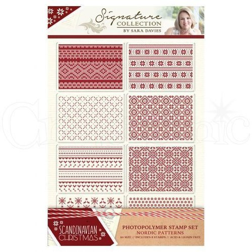 Sello de silicona Scandinavian Christmas- Nordic Patterns
