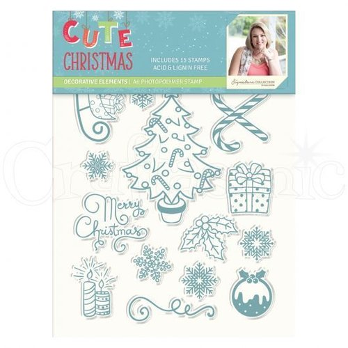 Clear Stamp - Cute Christmas