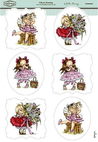 Toppers Wee Stamps - Cherry Kisses
