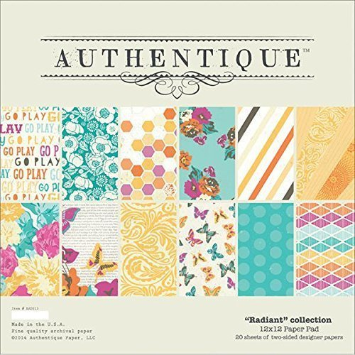 Kit de Papel 12x12 Authentique: Radiant