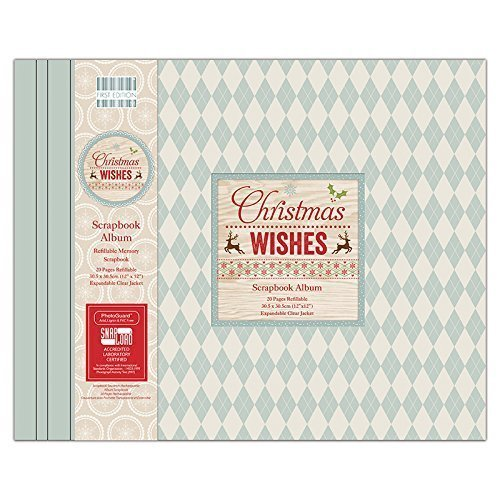 "First Edition: Álbum 12"" x 12"" ""Christmas Wishes"""
