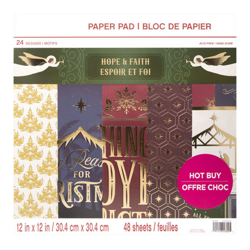 "12x12 Craft Smith Paper Kit ""Hope and Faith"""
