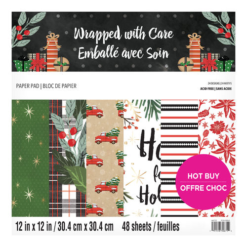 "12x12 Craft Smith Paper Kit ""Wrapped with Care"""
